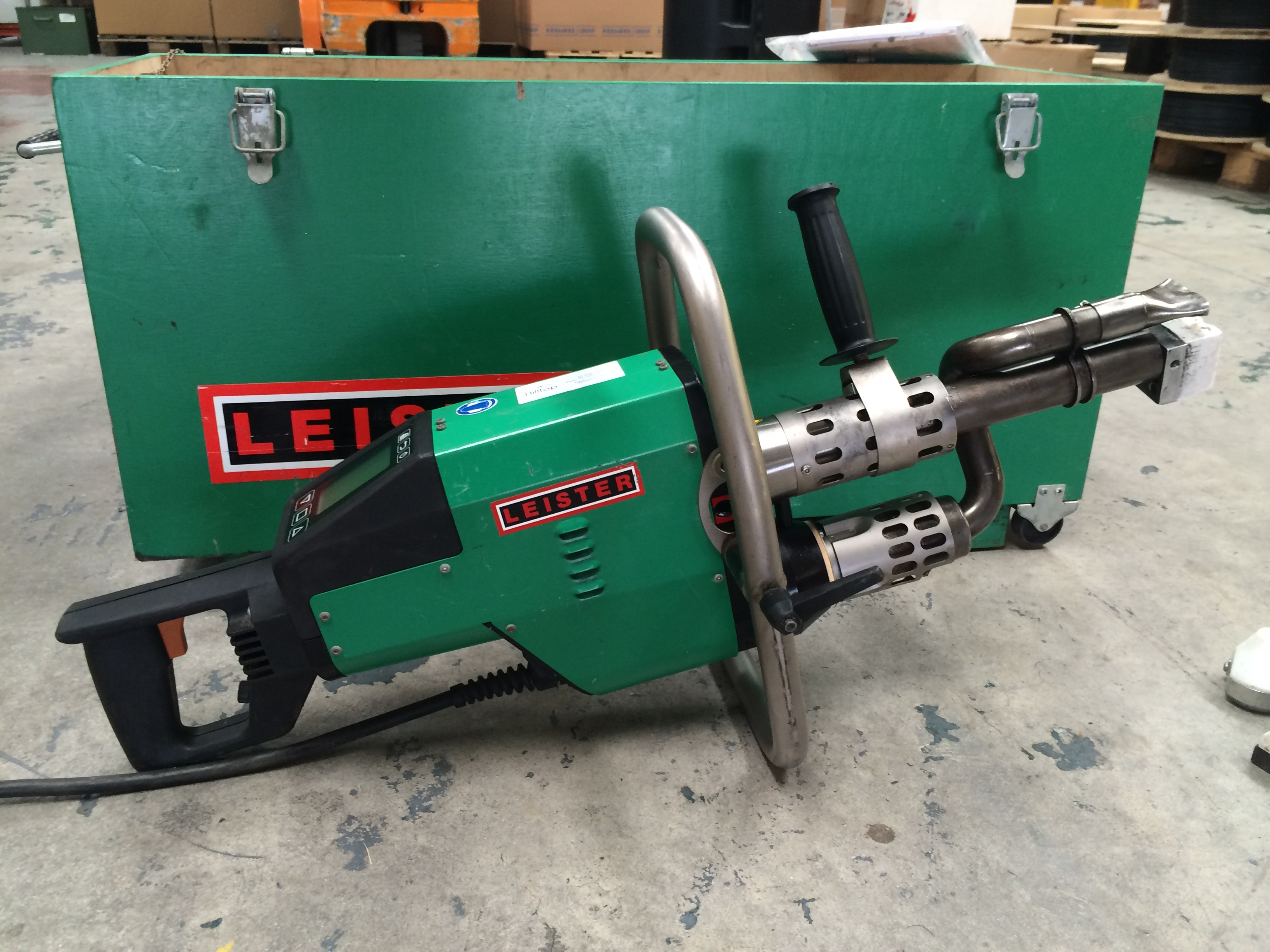 Used Hand Extrusion Welders