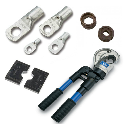 Copper Tube Lugs, Tools and Die Sets