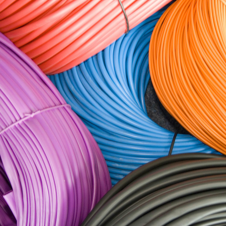 PVC Sleeving, Tubing Hose, Nylon, EPDM, PTFE & Cord