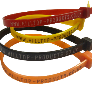 Printed Cable Ties - Hot Foil Stamp