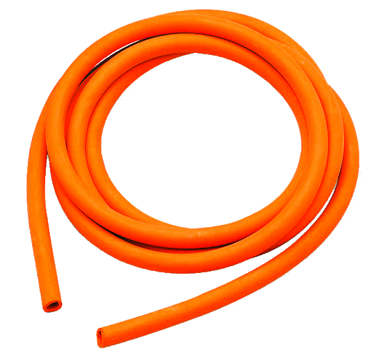 Red Natural Rubber Tubing