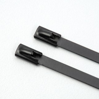 Stainless Steel Cable Tie Coated