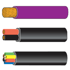 Thin Wall Low Voltage Cable