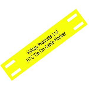 Zero Halogen Tie-On Tip Tag Cable Markers in a range of Colours