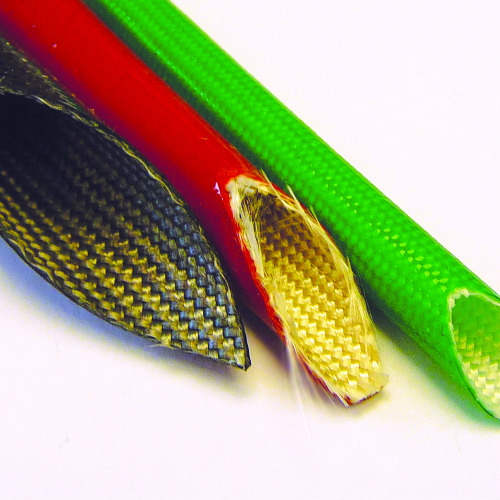 Vidaflex 300 Series - Silicone Coated Glass Braid