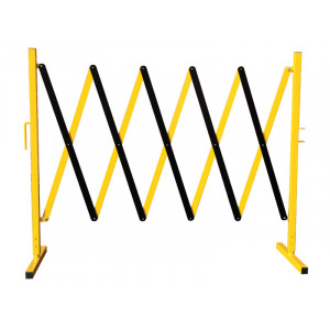 Small and Large Extendable Safety Barriers