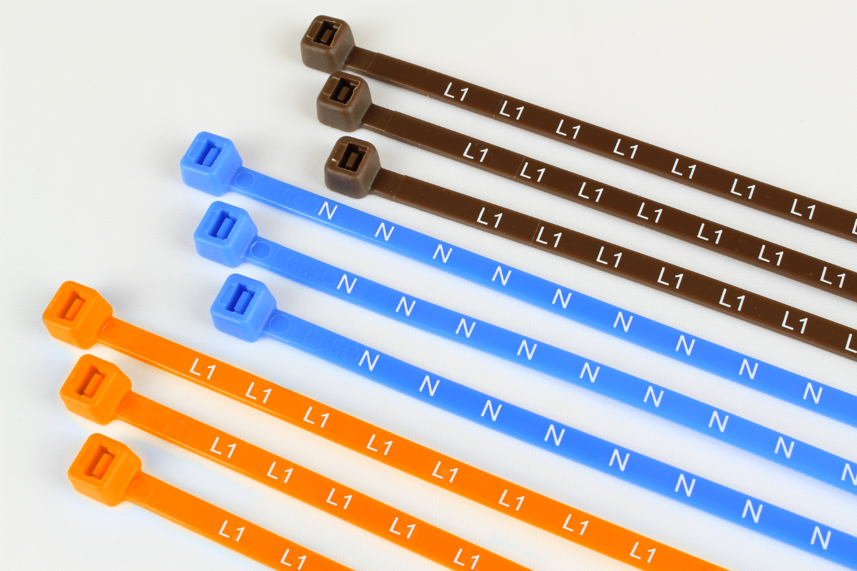 Printed Electrical Metering Ties