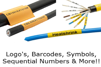 Printed Heat Shrink Sleeves & Markers