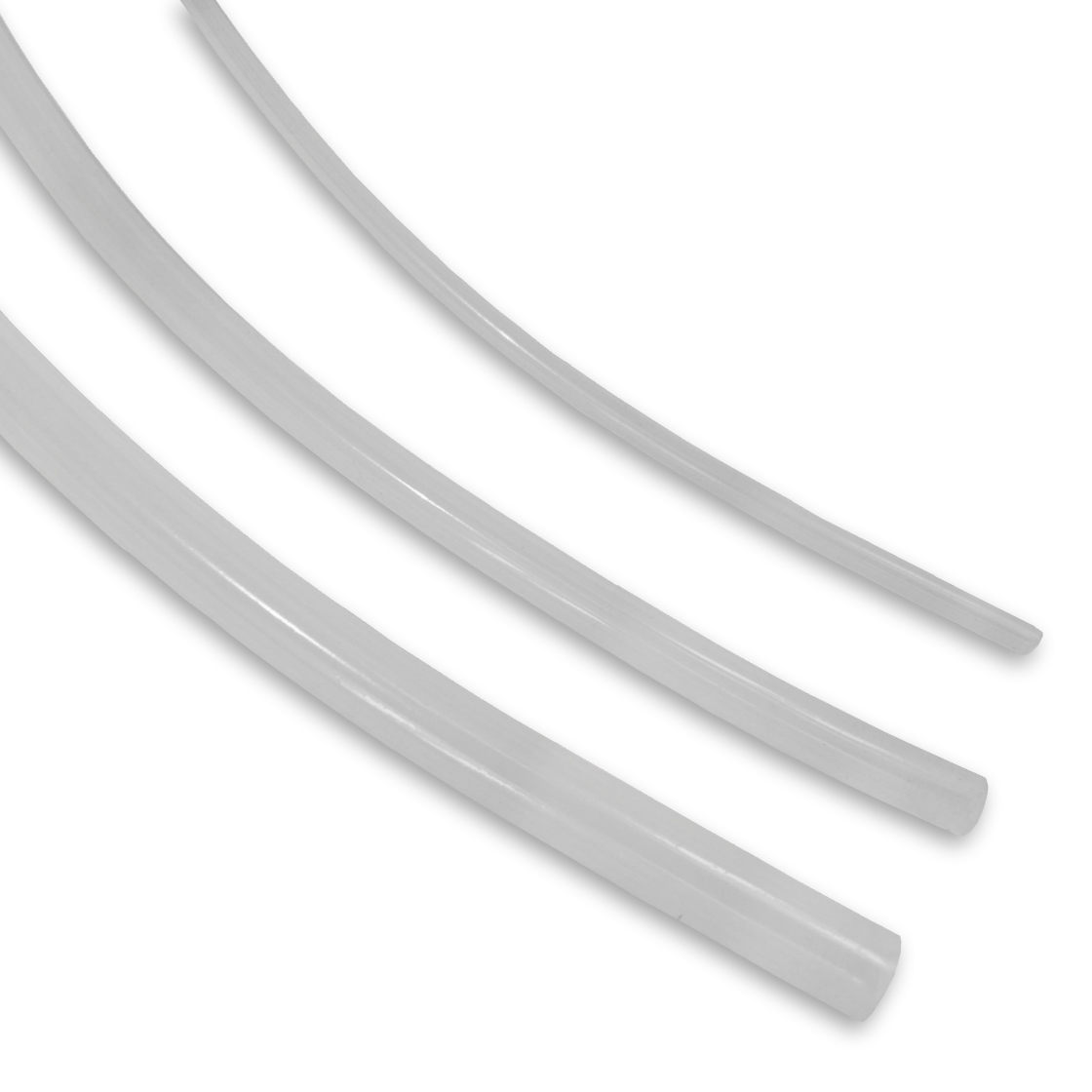 Translucent Platinum Cured Silicone Tubings