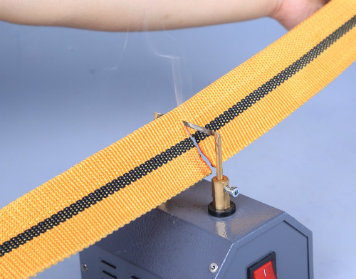 Hc350 Bench Mounted Hot Knife Rope Foam Cutter