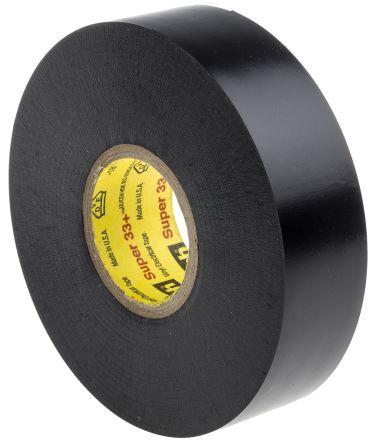 Genuine 3M Scotch Super 33+ Vinyl Electrical Tape - Black