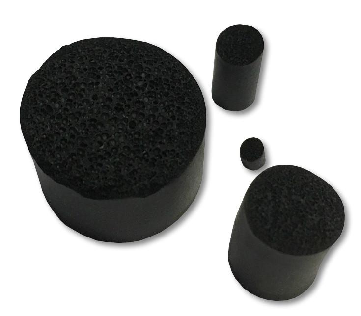 15.0mm O//D Neoprene Sponge Foam Black Cord Closed Cell Rubber