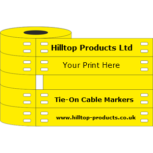 4-012060-C Yellow Cable Marker