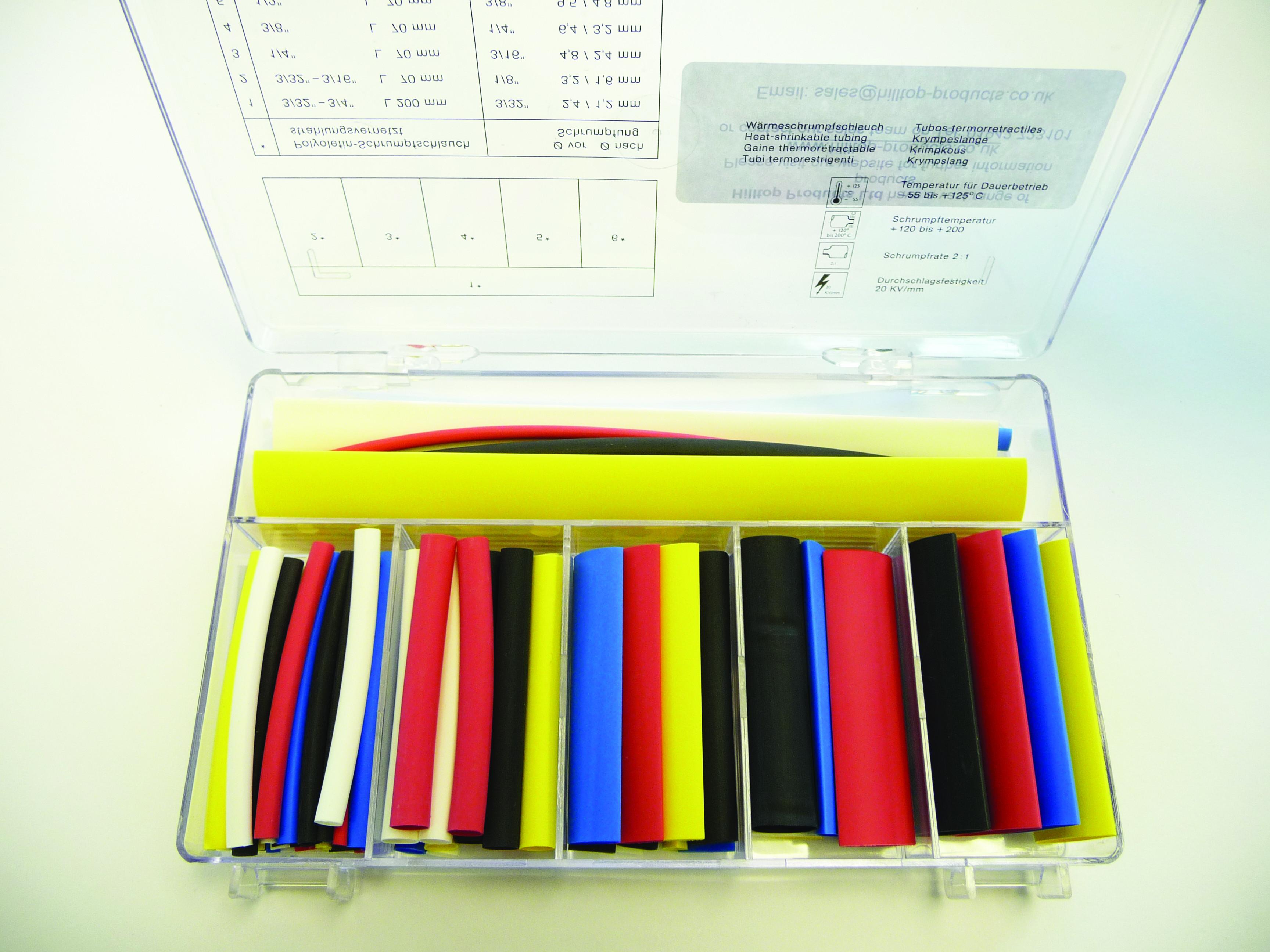 Heat Shrink Kit Deray Set 1000