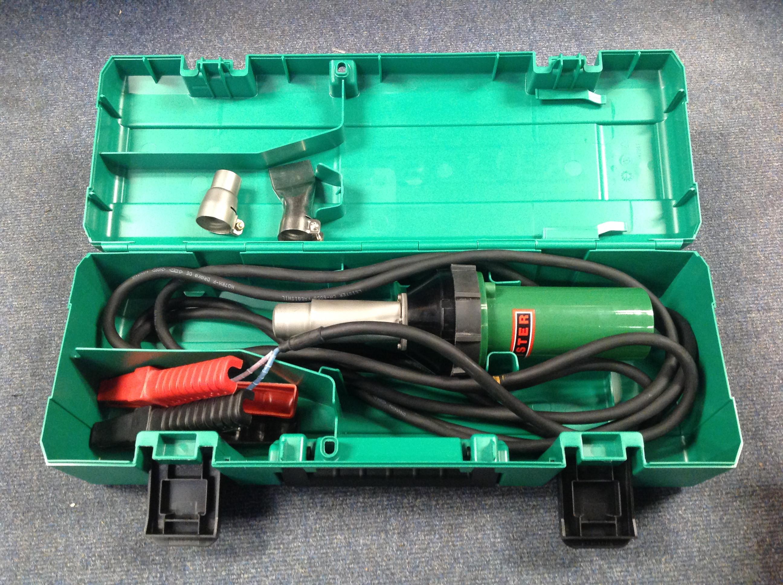 Used Leister Triac Heat Gun 24V Tarpaulin Kit USED103