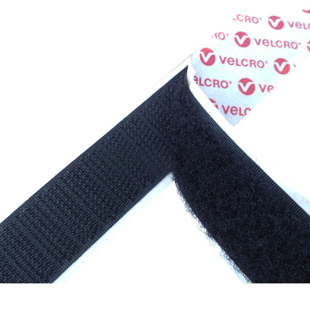 VELCRO® brand PS14 Self Adhesive Loop 20mm Black