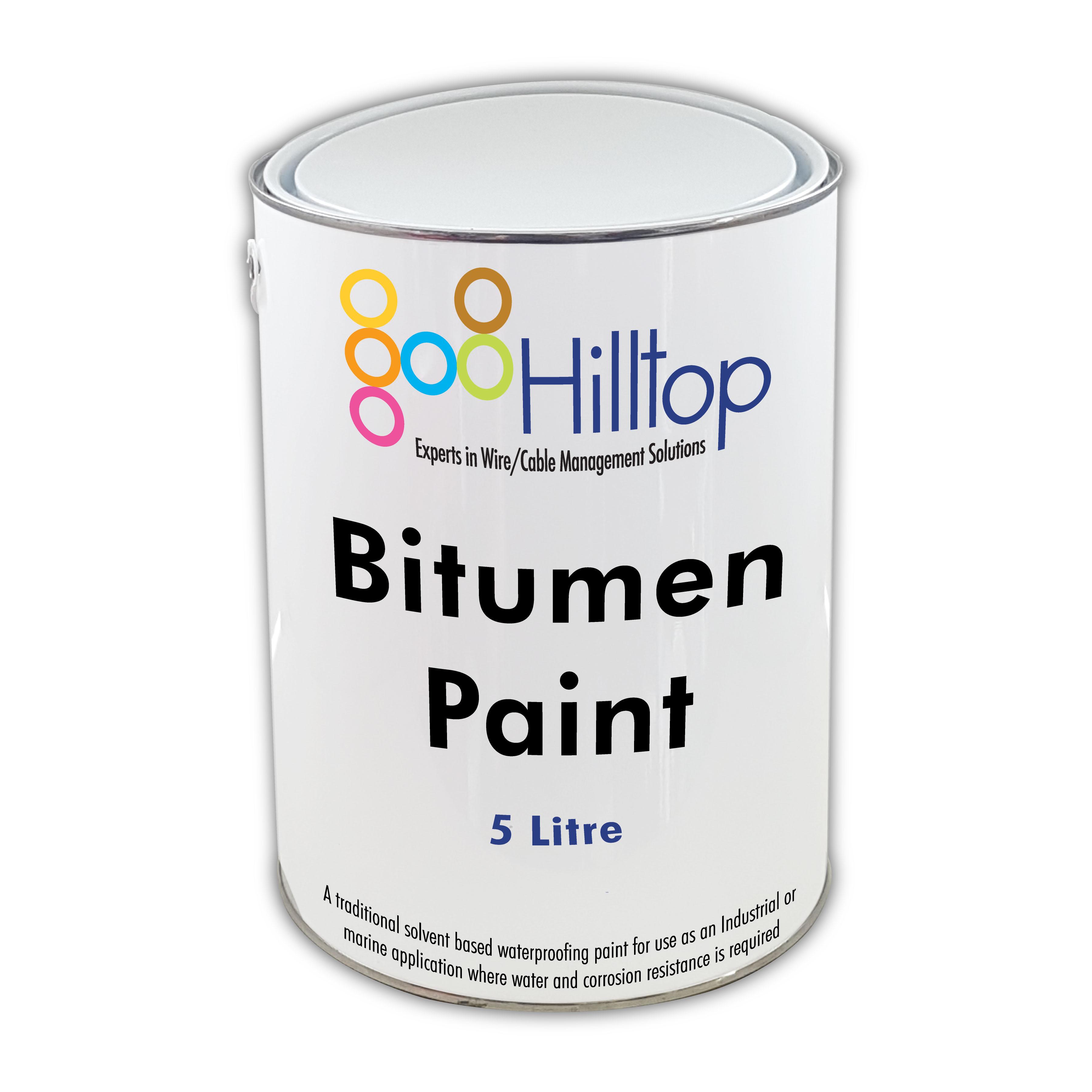 Trade Quality Black Bitumen Paint 5 Litre