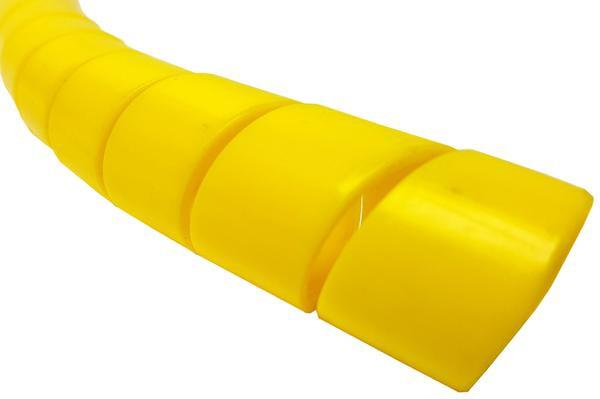 Yellow Spiralguard Hose Protection