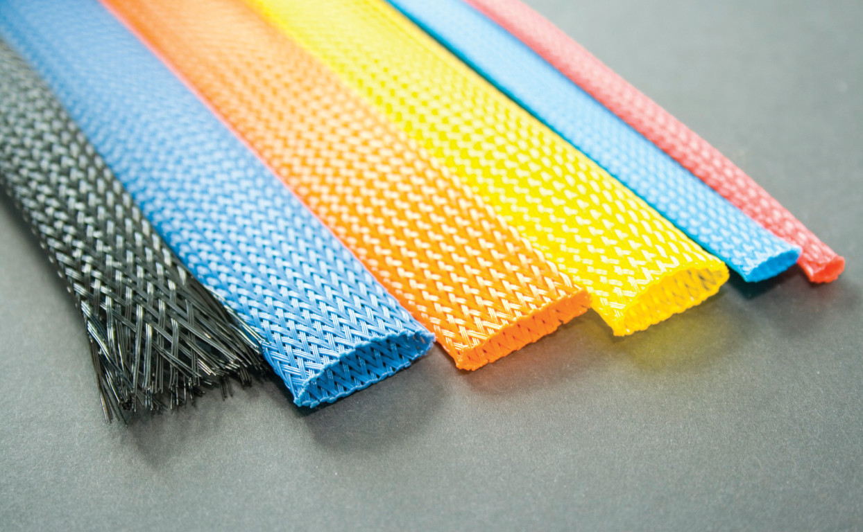 Expandable Braided Sleeving PG Colours