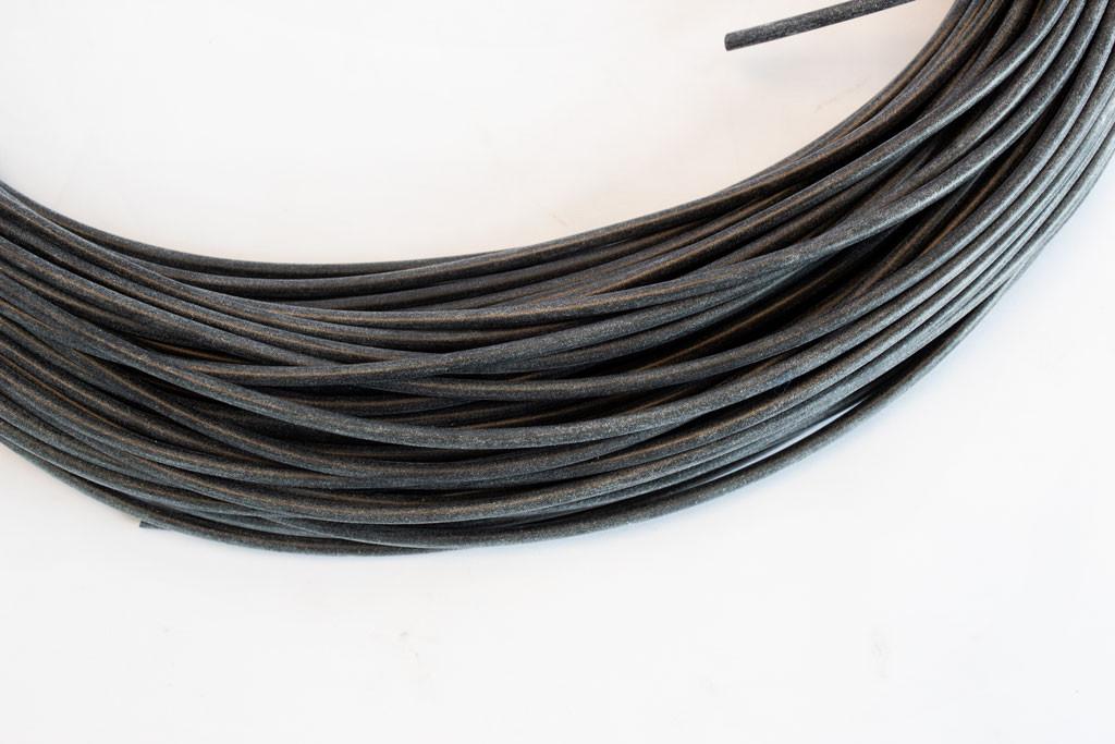 Black Silicone Tubing