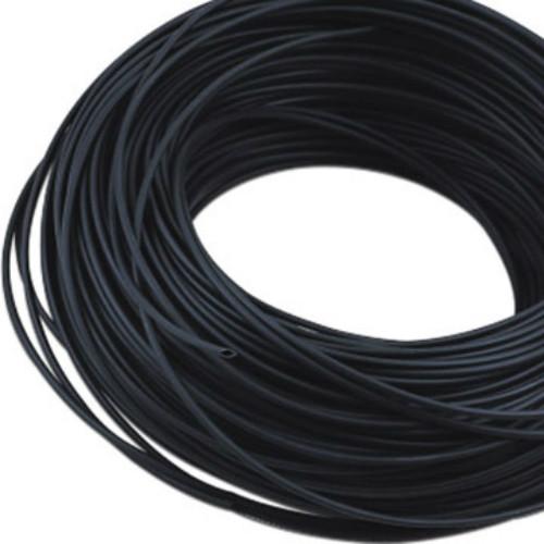 1.2mm PVC Sleeving x 0.3mm Ultra Thin Wall Black