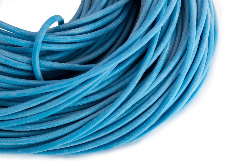 Blue Silicone Tubing
