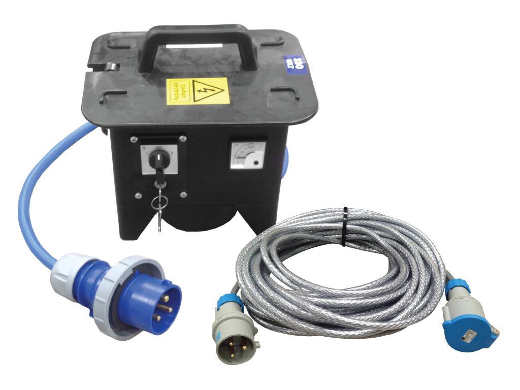 Lesiter RCCB Safety Box 230V Package