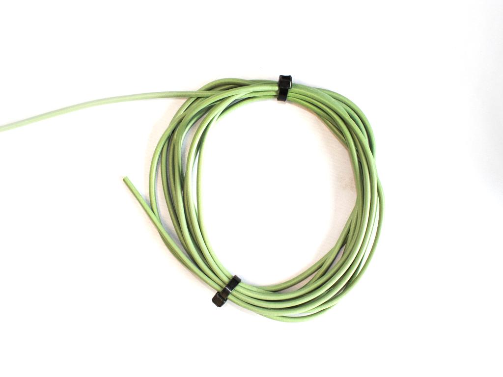 Green Neoprene Tubing