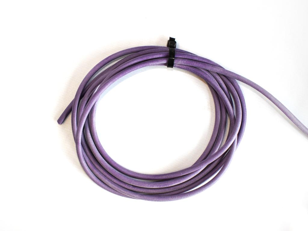 Purple/Violet Neoprene Tubing