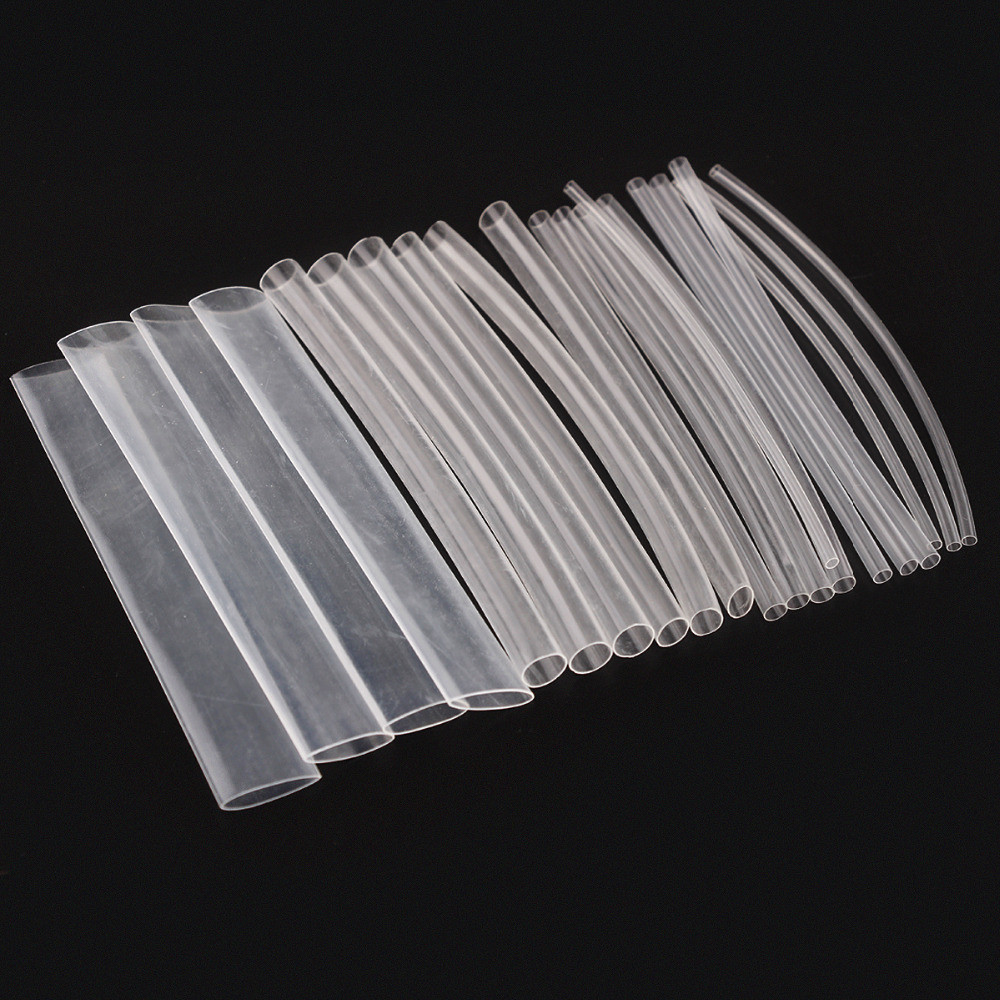 Mixed Heat Shrink Kit 50pc Clear - 200mm lengths
