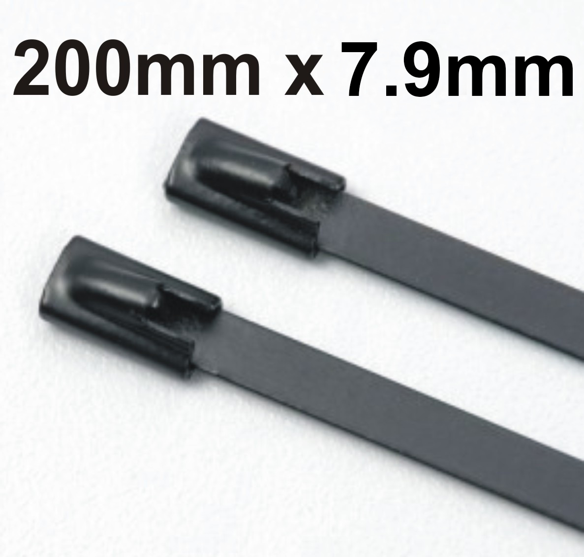 Stainless Steel Cable Ties Coated 200mm x 7.9mm