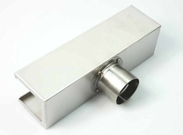 107.340 - Shell reflector ø 50.5 mm, 45 x 250 mm, straight