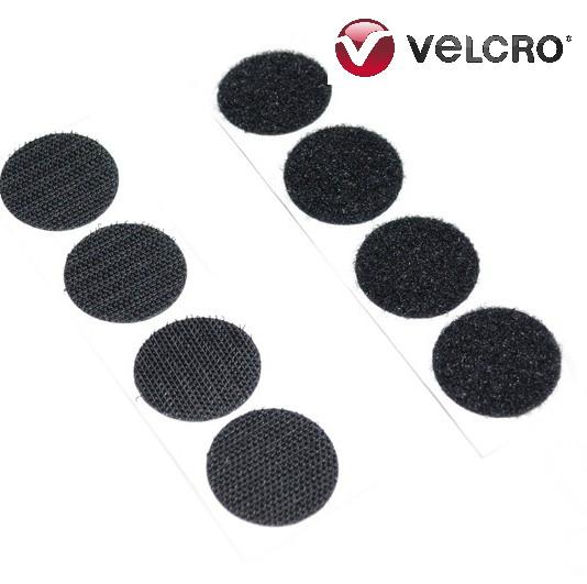 VELCRO® brand Hook & Loop Dots 22mm Black