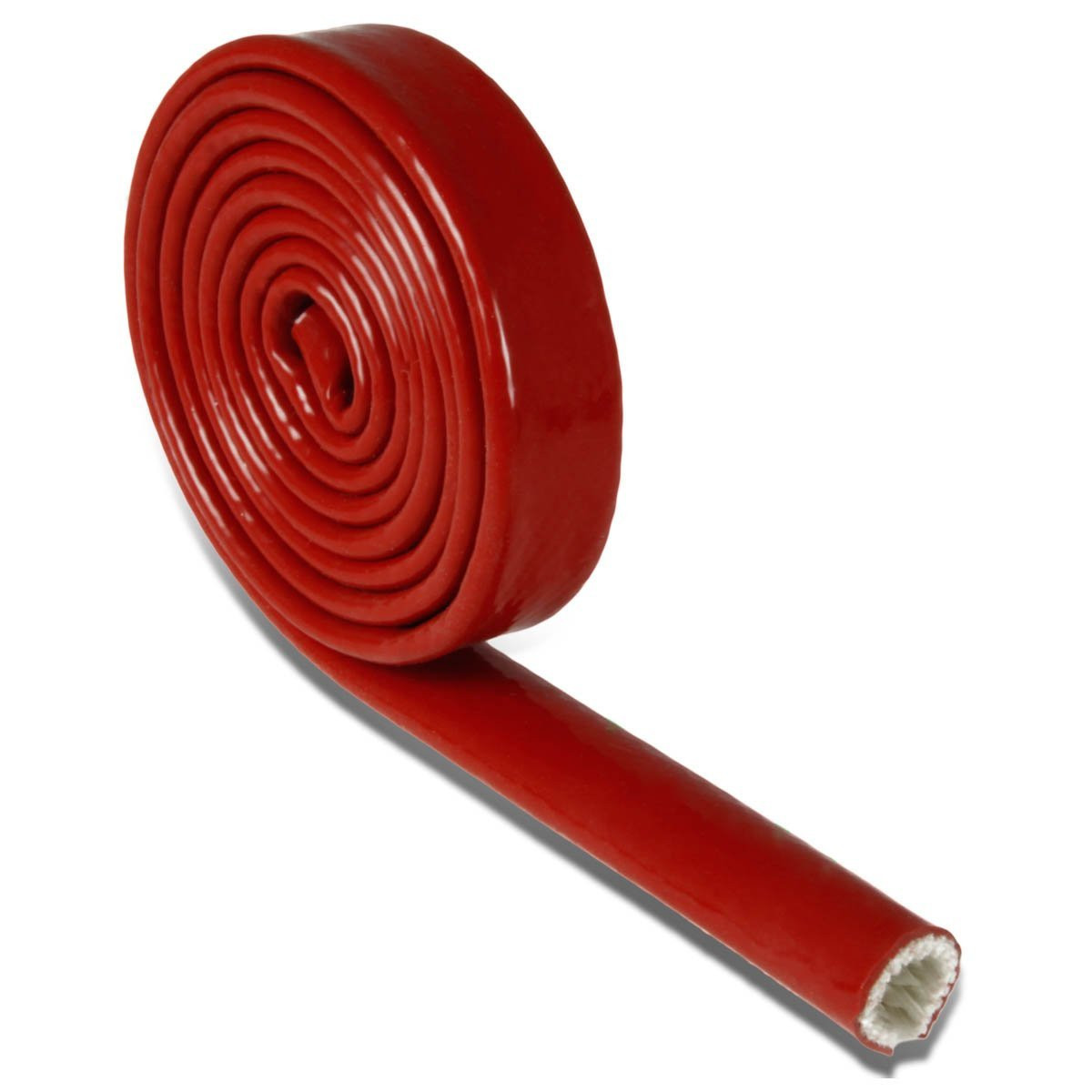 Pyrojacket Thermo Glass Fibre Firesleeve size 10.0mm - Red Oxide
