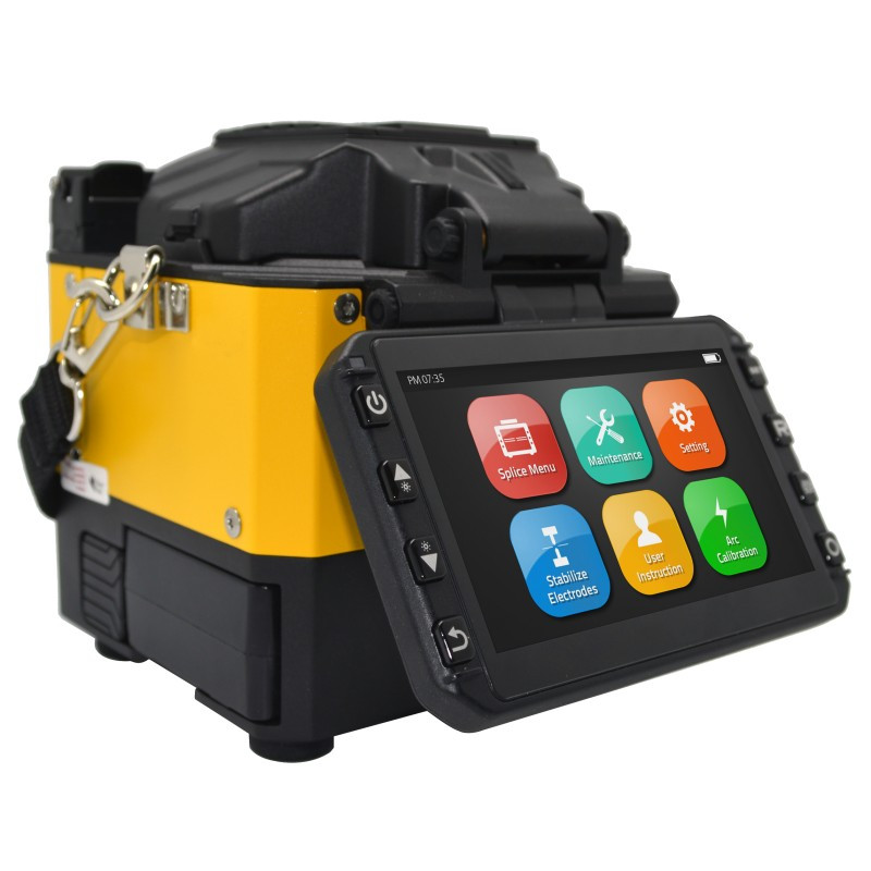 Full Touch Screen Fusion Cable Splicer