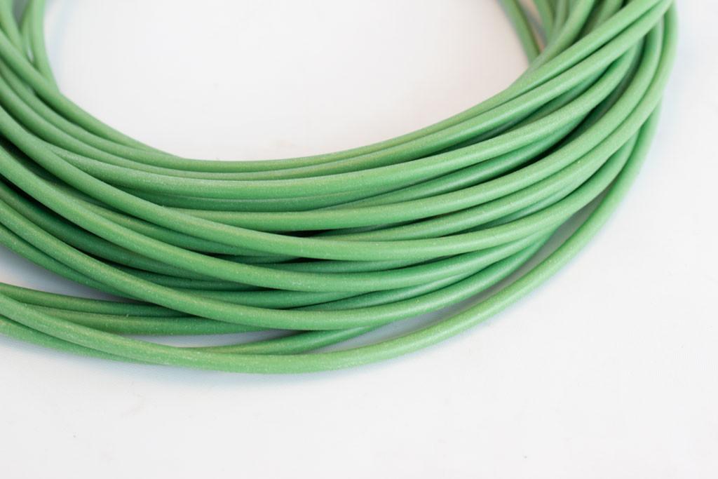 Green Silicone Tubing