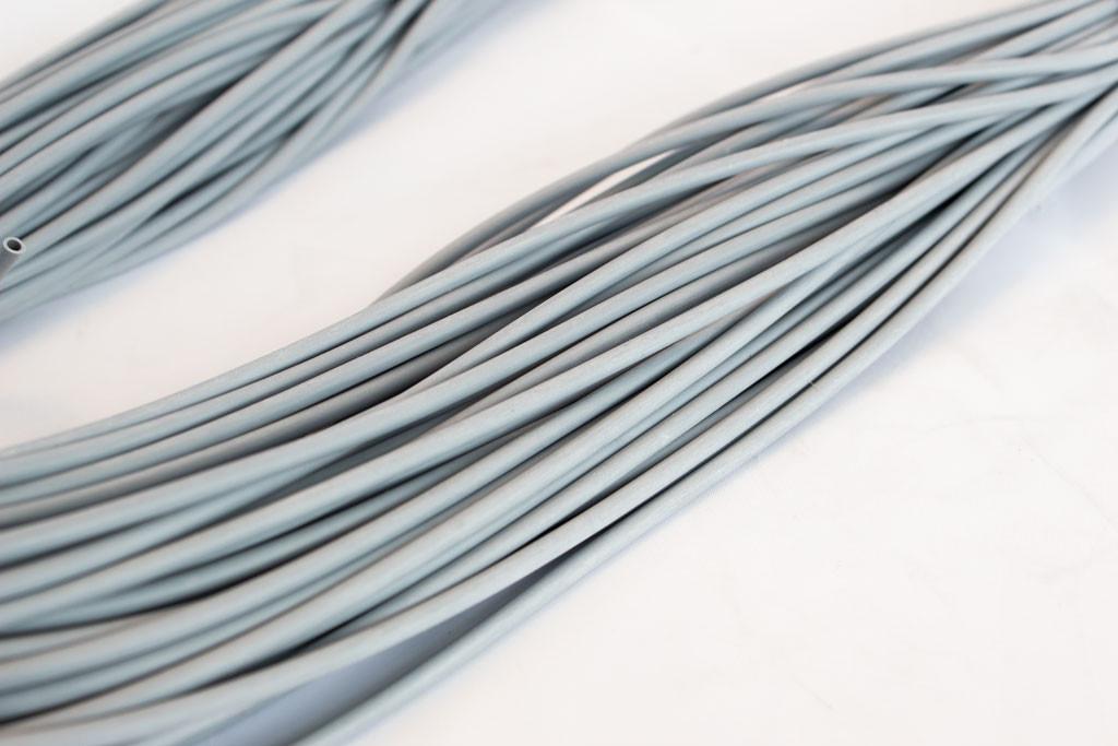 Grey Silicone Tubing