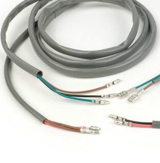 4mm Grey PVC Sleeving for Restoration / Repair / Motorcycle Harness Wiring