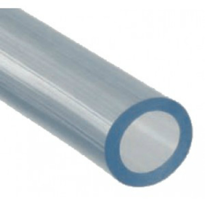 PVC Hose Tubing - 4.5 / 5.0 mm Wall PVC Tubing - Clear Unreinforced Tubing with High Gloss Crystal Clear Appearance.
