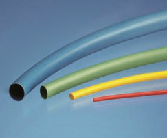 Low Shrink Tubing - HLST Yellow size 2.4mm I.D / 1.2mm I.D