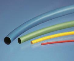 Low Shrink Tubing - HLST Green size 38.1mm I.D / 19.0mm I.D