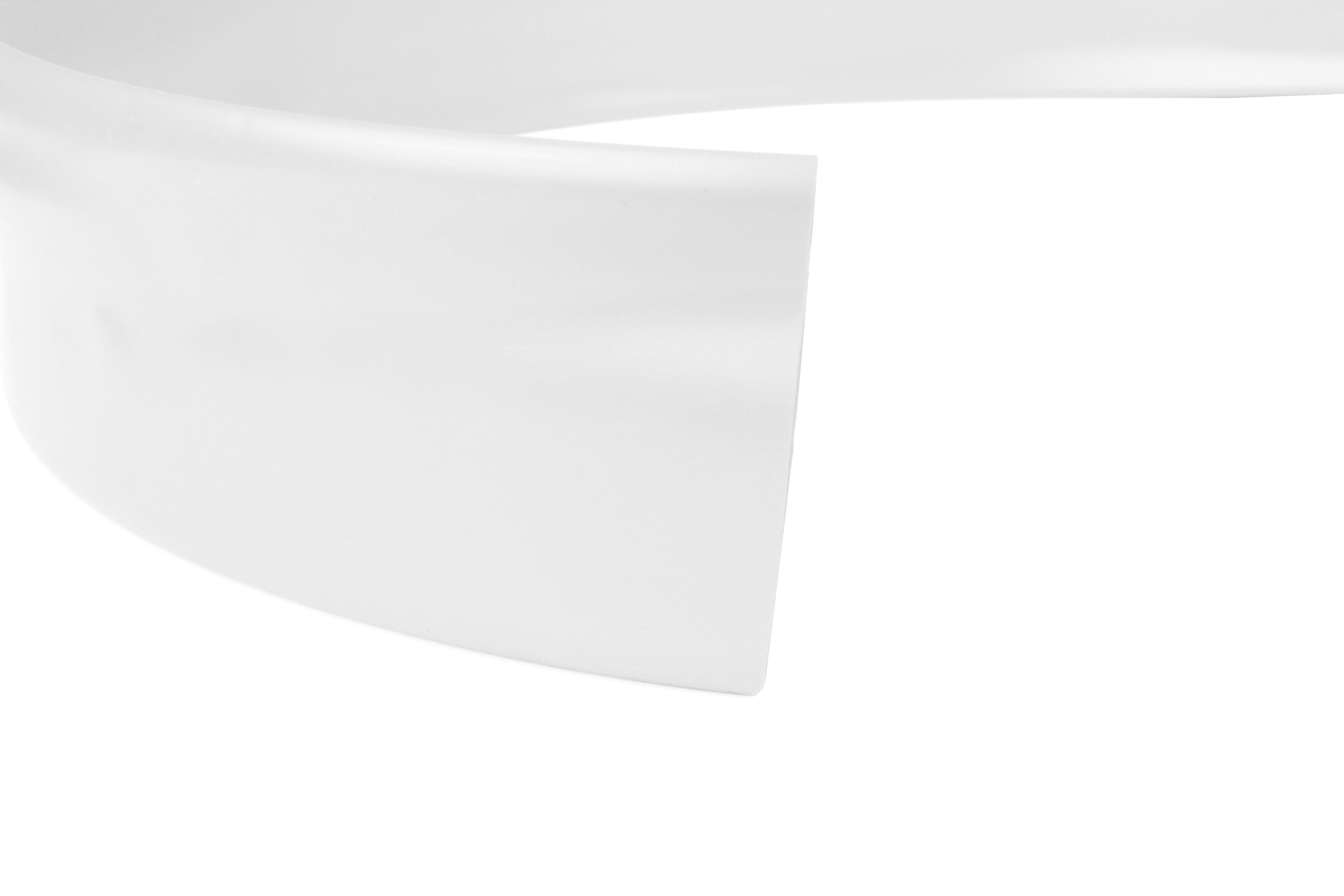 PVC Heat Shrink Tubing HPV Size 6.4mm I.D / 3.2mm I.D White