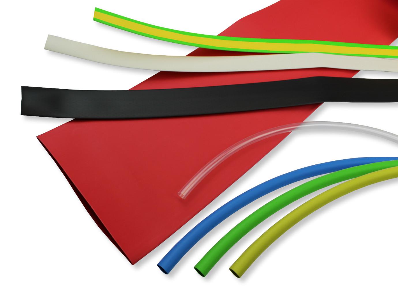 Heat Shrink Tubing 3:1 Ratio HSP3 size 24.0mm I.D / 8.0mm I.D Black