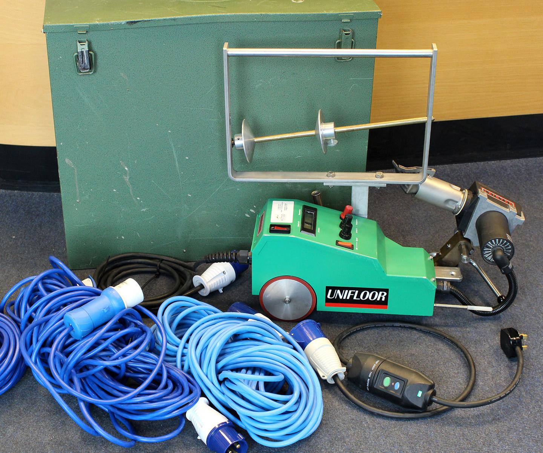 Leister Unifloor 240V Floor Welding Machine (USED196) -SOLD