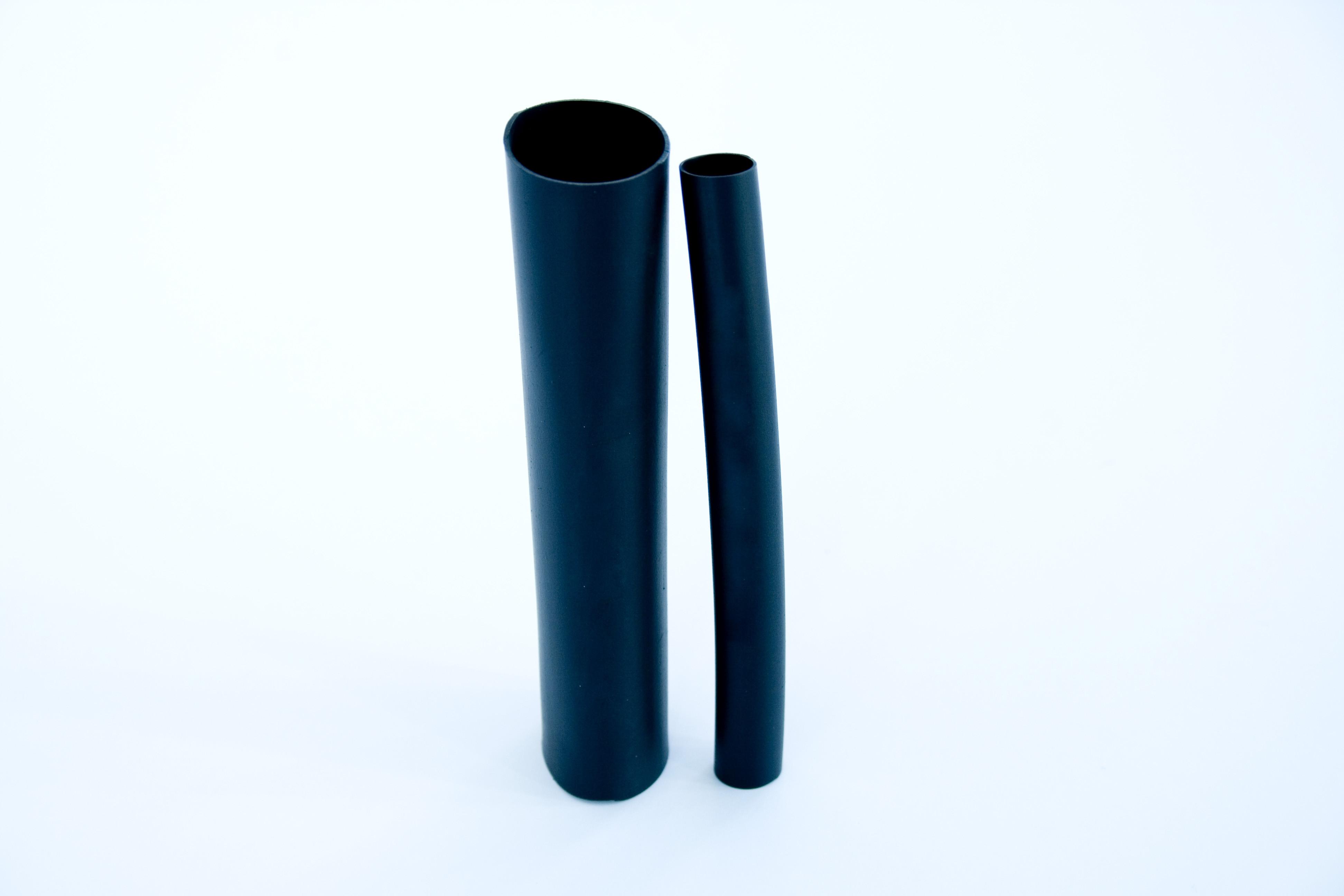 "VITON-HT Chemical Resistant High Temp Heat Shrink size 1 1/2""  Viton®-HT Size 1 1/2"" (38.1/19.0mm) Heat shrink tubing. Direct Equivalent to VITON®-E and RW-200-E"