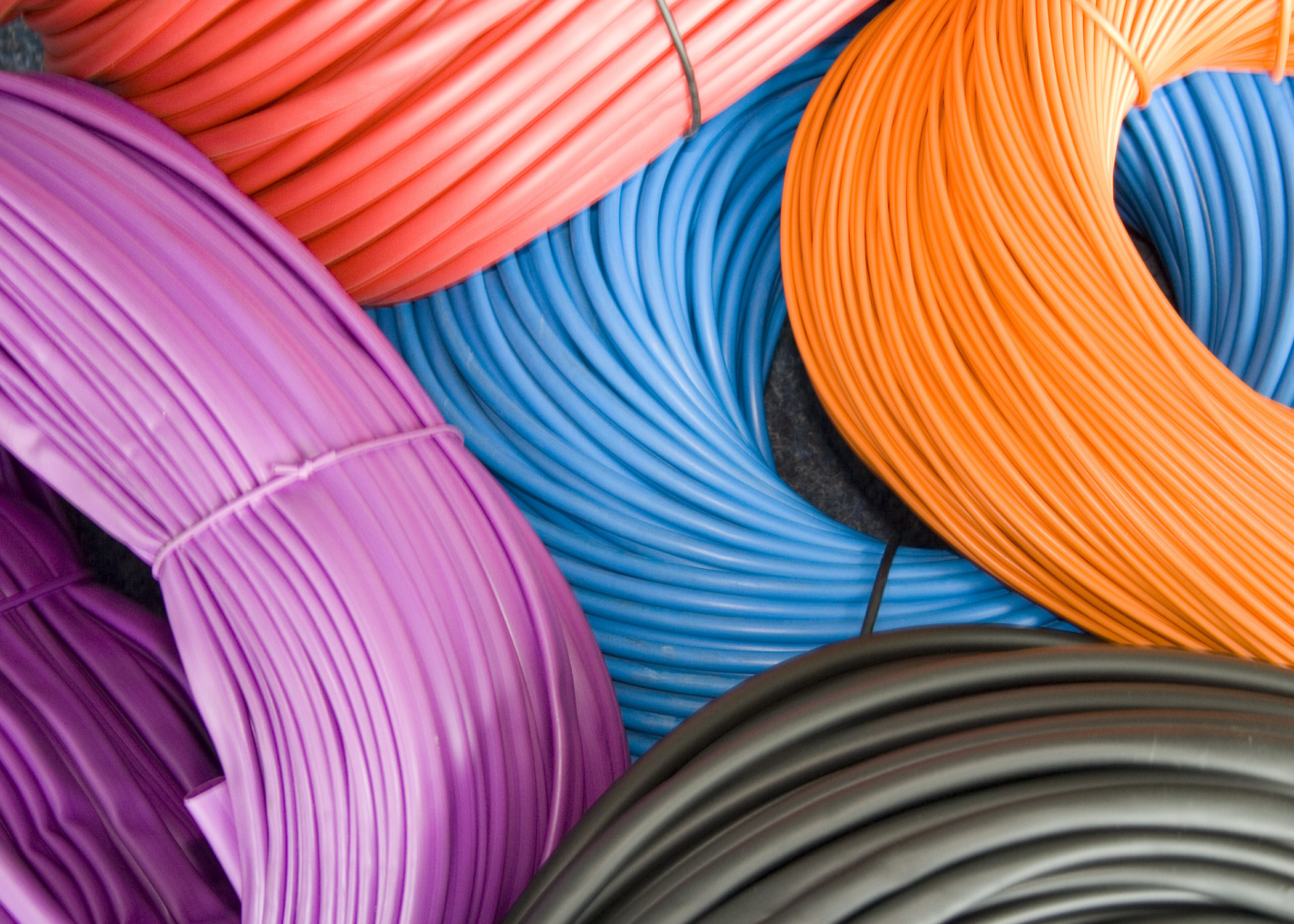 PVC Sleeving Tubing 4.0mm 0.5mm Extruded Printable