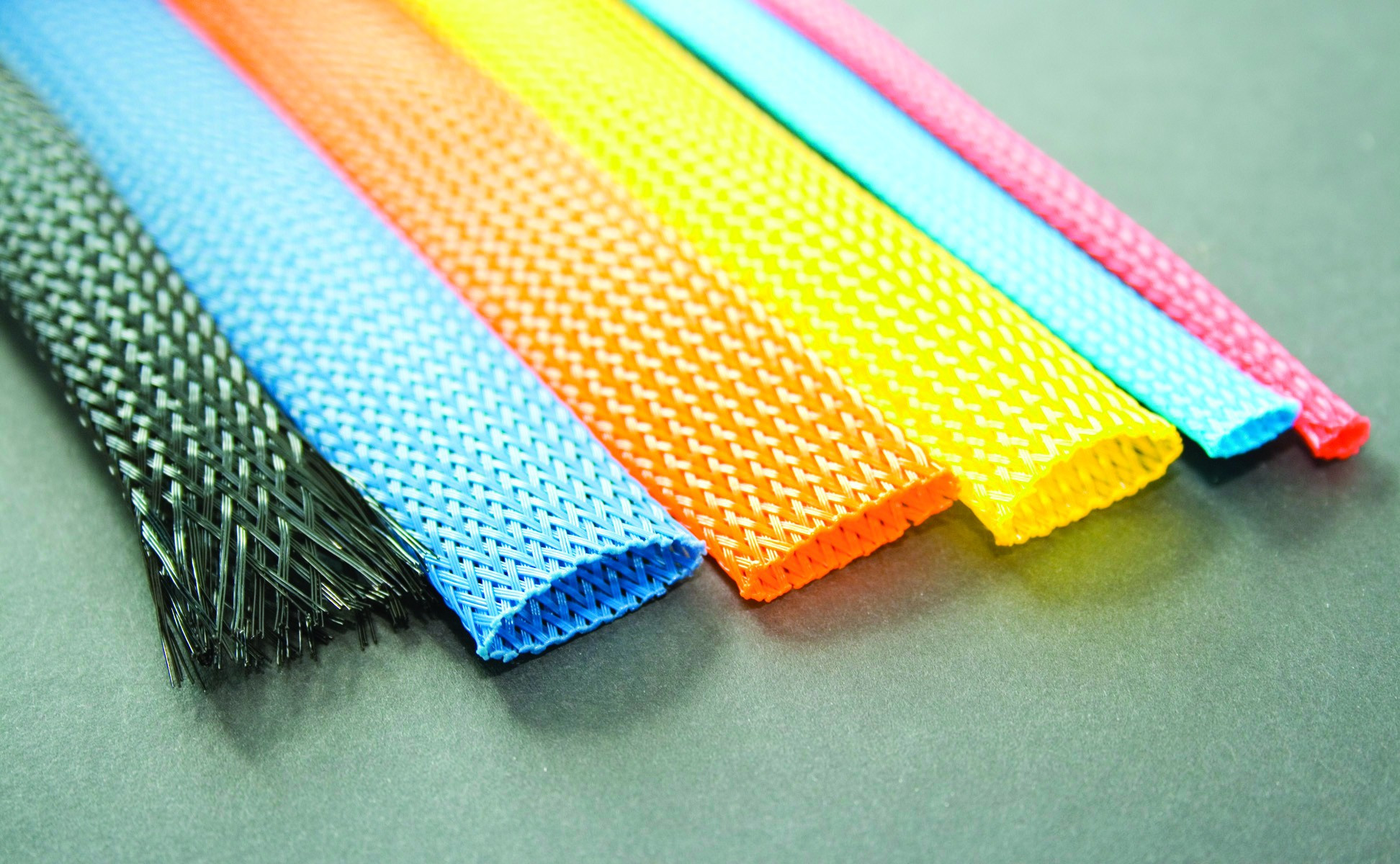 Expandable Braided Sleevings Colours - HILFLEX-PG