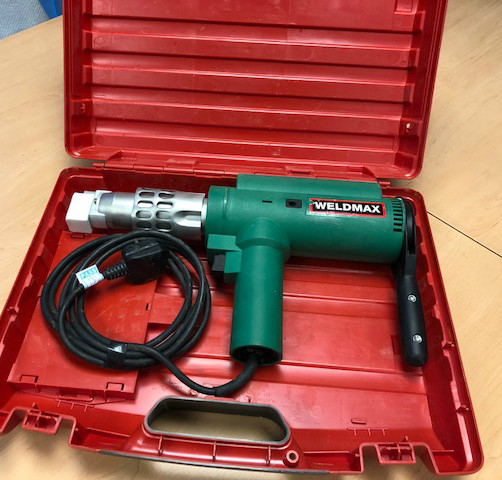 Leister Weldmax 230v Hand Extruder for PE, PP, PVDF, PA membranes (USED169) SOLD