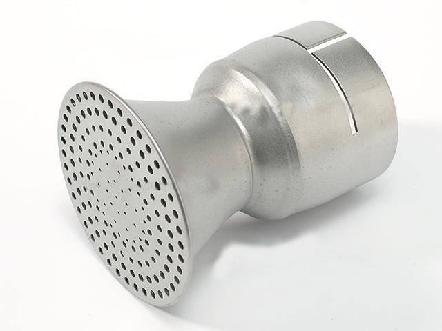 106.127 - Round Sieve Nozzle ø 50.5 mm/ ø 65 mm, straight