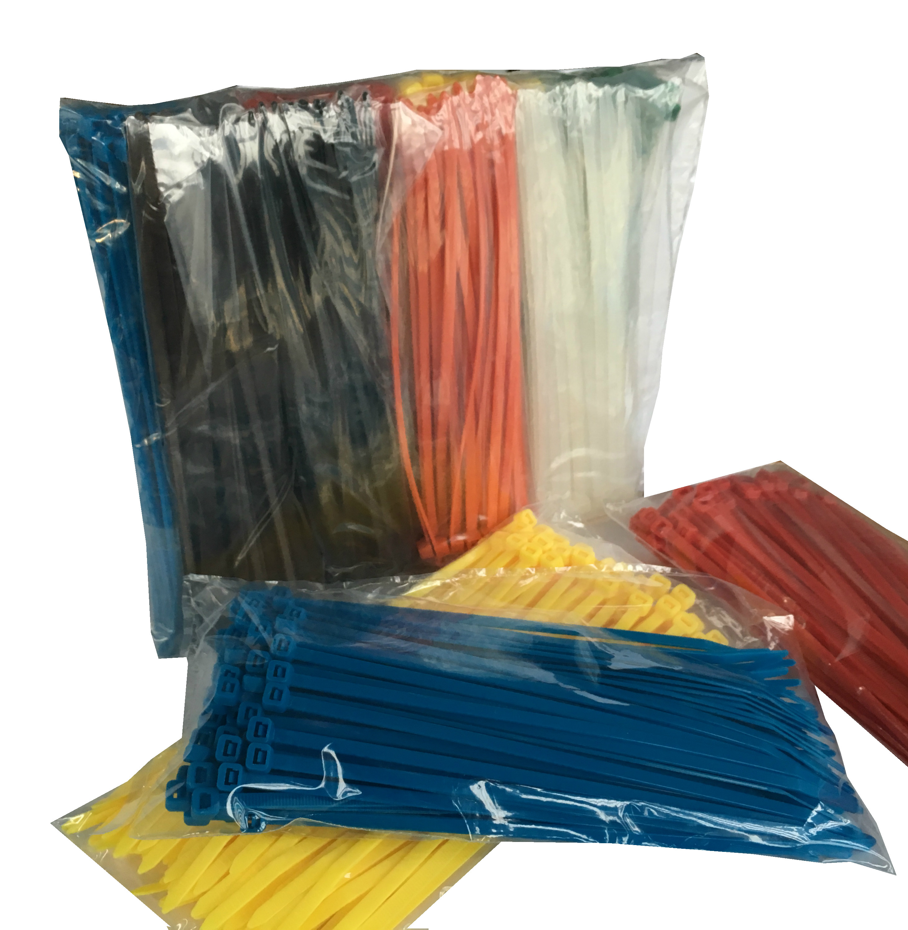 TR5 Rainbow Cable Tie Pack Size 200mm x 4.8mm